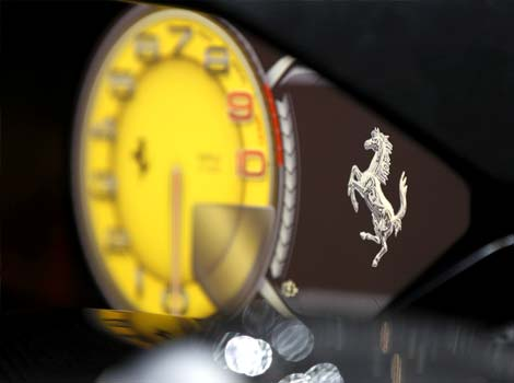 Ferrari control panel.JPG